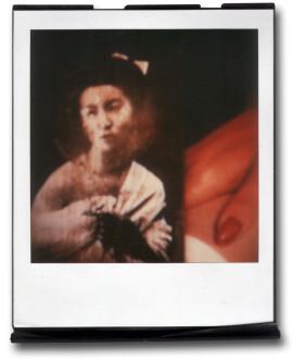 André Werner A Geisha (red I), SX70, polaroid, ca. 1992