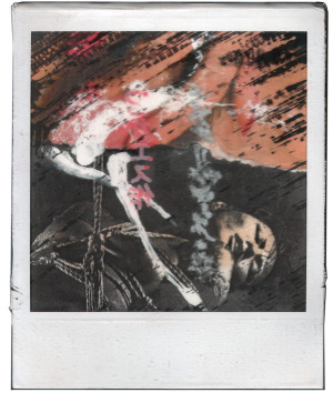 Andre Werner | polaroid montage 1988