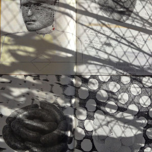 Andre Werner | Richard Prince and Sigmar Polke on my balcony #07| June 12 5pm 38