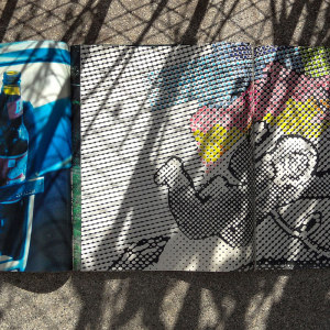 Andre Werner   Richard Prince and Sigmar Polke on my balcony #13  June 12 5pm 41