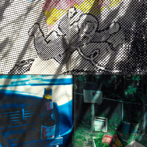 Andre Werner   Richard Prince and Sigmar Polke on my balcony #09  June 12 5pm 41