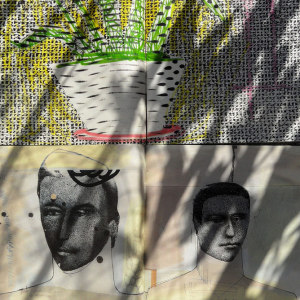 Andre Werner | Richard Prince and Sigmar Polke on my balcony #11| June 12 5pm 44