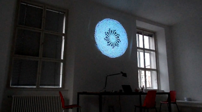 André Werner, Vienna Wheel (working title), closed circuit installation, 2014, part of the Vienna MQ artist residency.