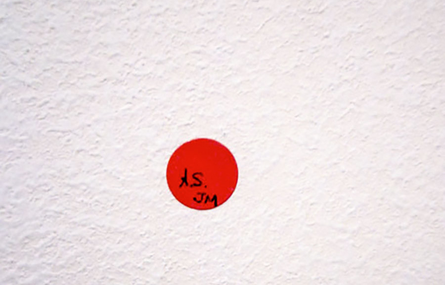 Alan Smithee/Julia Murakami: twenty dots for Miami, 2010, edition of 20/2AP, ca. 0,7 x 0,7cm