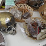 PCFS, The Post Colonial Flagship Store    Skulls and bones at the Young Djamu Art Shop by Erik Pauhrizi